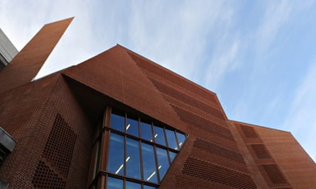 A study in innovation … LSE's Saw Swee Hock Student Centre.