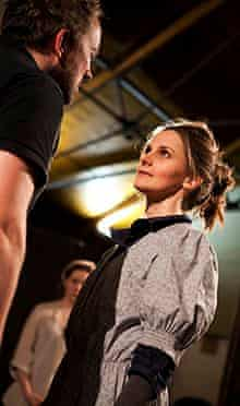 Louise Brealey and Keith Watson in Miss Julie.