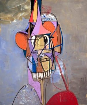 George Condo - The Laughing Cavalier, 2013