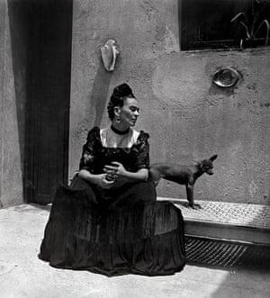 Frida Kahlo, taken by Lola Álvarez Bravo, c1944.