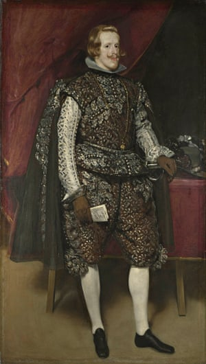 Diego Velázquez' Philip IV of Spain in Brown and Silver (c1631-2).