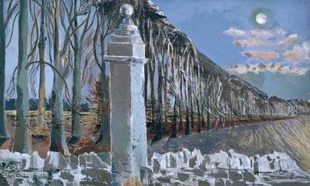 Paul Nash's Pillar and Moon