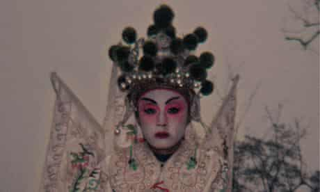 Costume drama … an image from Zhang Xiao's Shanxi showing a girl dressed up to celebrate China's lun