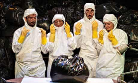 Theatre-Rites's Rubbish, at the Southbank Centre, London.