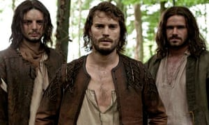 Dornan, centre, in New Worlds