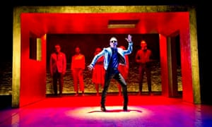 Andrew Scott in Birdland at the Royal Court