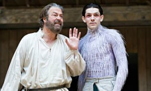 The Tempest at Shakespeare's Globe theatre