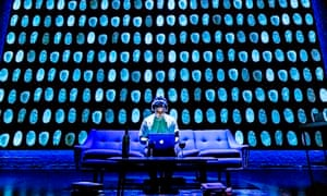 Joshua McGuire in Privacy at the Donmar Warehouse