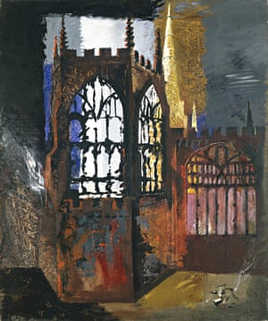John Piper, Coventry Cathedral, 1940