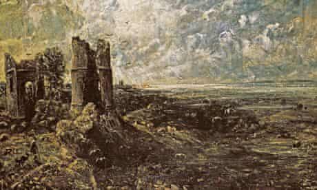 John Constable's sketch for <em>Hadleigh Castle</em>, c1828-29.