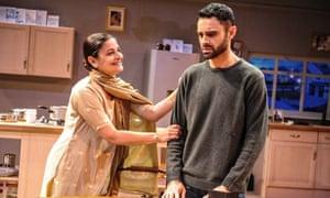 Sudha Buchar (Jeeto) and Rez Kempton (Pal) in Khandan (Family) at Birmingham Rep