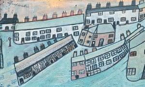 AlfredWallis's Houses at St Ives, Cornwall, c1928-42.