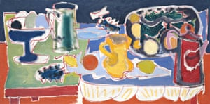 Patrick Heron's Long Table with Fruit, 1949