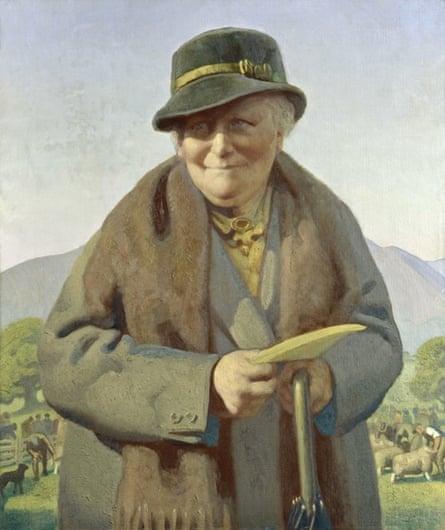 Beatrix Potter (Mrs Heelis), by Delmar Banner.
