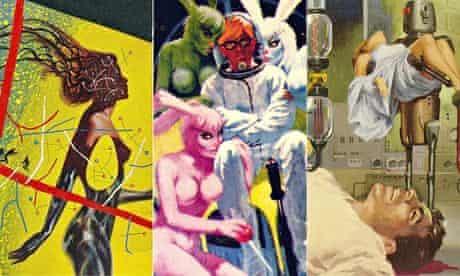 Classic-era sci-fi illustrations