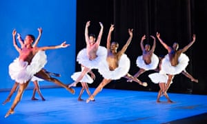 Natural and expressive … Dada Masilo's Swan Lake at Sadler's Wells, London.