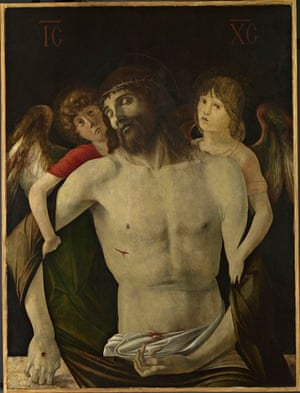 Giovanni Bellini's The Dead Christ Supported by Angels