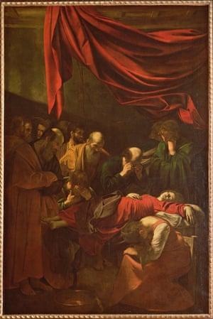 Caravaggio's The Death of the Virgin