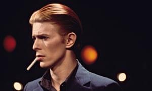 Bowie in LA in 1976.