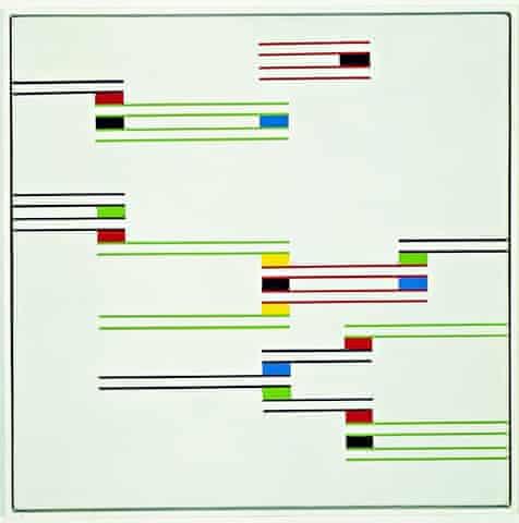 Alfredo Hlito's Chromatic Rhythms II, 1947
