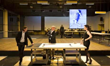 Structural supremacy … Ivo van Howe's adaptation of The Fountainhead