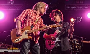 Hall & Oates performing at Latitude festival