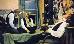 David Wood, Richard Warwick and Malcolm McDowell in If …