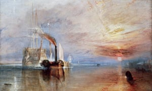 The Fighting Temeraire by JMW Turner