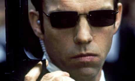 'That is the sound of inevitability' … Hugo Weaving as Agent Smith in The Matrix.
