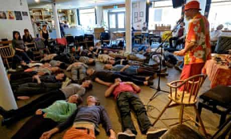Laraaji's laughter workshop at Cafe Oto, London