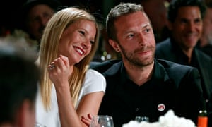 Gwyneth Paltrow, left, and her ex-husband, Chris Martin.