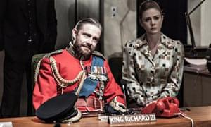 Martin Freeman and Lauren O'Neil in Richard III