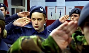 Stoic … Cadet Josh looks after his dad in Britain's Youngest Carers (Channel 4).