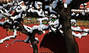The Snow Dispersed Air Pollutions In Beijing