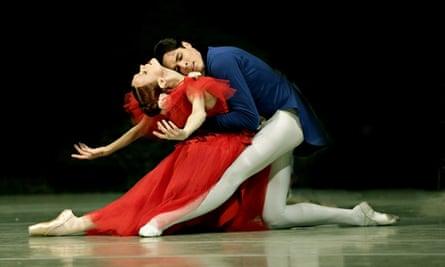 Uliana Lopatkina and Timur Askerov dance Marguerite and Armand