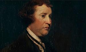 Portrait of Edmund Burke