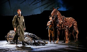 Tear-jerker … the National Theatre's production ofWar Horse
