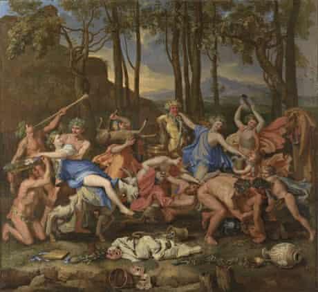 Nicolas Poussin's The Triumph of Pan (1636).