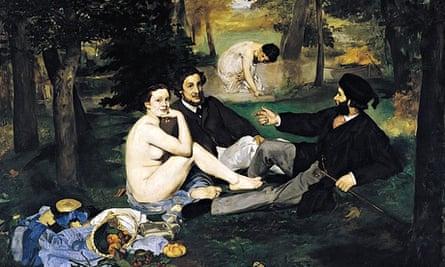 Untroubled bliss … Édouard Manet – Le Déjeuner sur l'herbe (1863)