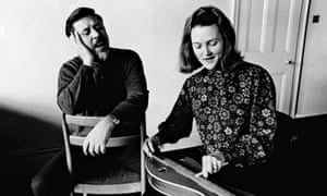 Peggy Seeger withEwan MacColl in 1965