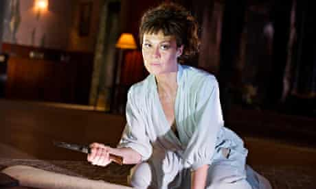 Helen McCrory as Medea at the Olivier, National Theatre