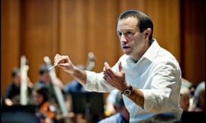 Working wonders … the conductor Mark Wigglesworth.