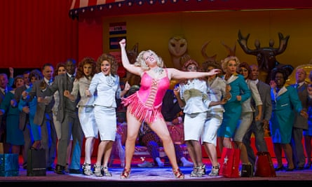 Giving everything she's got … Eva-Maria Westbroek in Anna Nicole at the Royal Opera House, London.