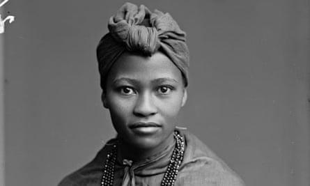 Member of the African choir