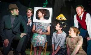 Random inventiveness … Joe Orton's Fred and Madge at the Hope theatre, London.