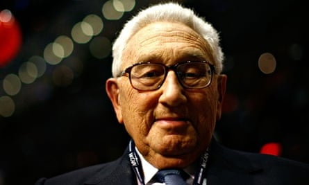 FILE - Henry Kissinger Turns 90