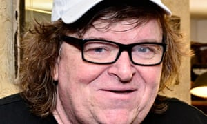Michael Moore at the Toronto film festival 2014