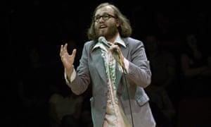 Daniel Kitson performing in 2003