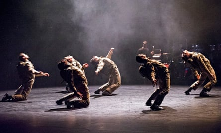 Fiercely collective musicality … Young Men by BalletBoyz's The Talent at Sadler's Wells, London.