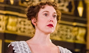 Hattie Morahan as Beatrice-Joanna in The Changeling at the Sam Wanamaker Playhouse.
